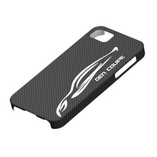 White GEN COUPE Logo iPhone SE/5/5s Case