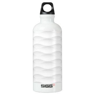 White Geometric Shadowed Background SIGG Traveler 0.6L Water Bottle
