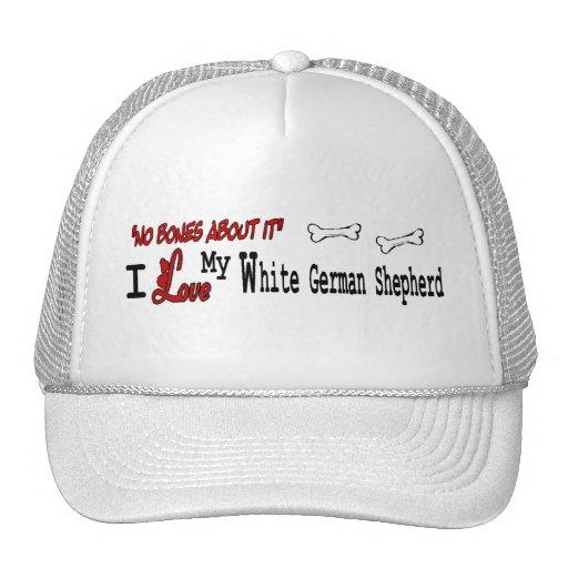 White German Shepherd (I Love) Hat