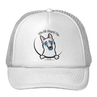White German Shepherd IAAM Trucker Hat