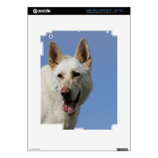 White German Shepherd iPad 3 Skin