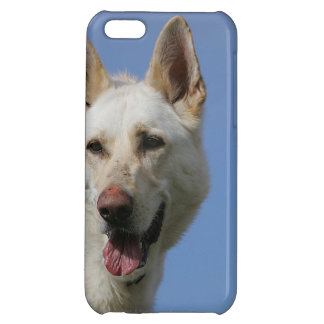 White German Shepherd Cover For iPhone 5C