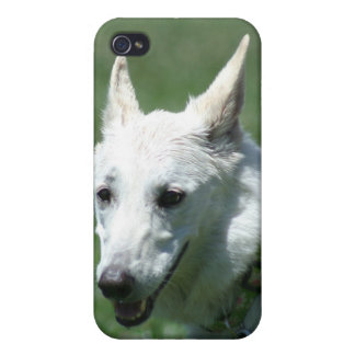 White German Shepherd Cover For iPhone 4