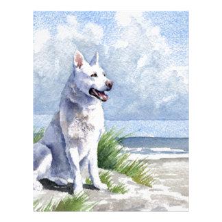 White German Shepherd Letterhead