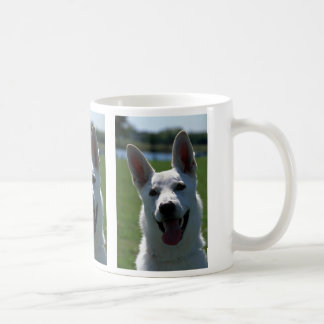 White German Shepherd Classic White Coffee Mug
