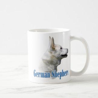 White German Shepherd Name Coffee Mug