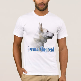 White German Shepherd Name T-Shirt