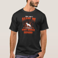 White German Shepherd T-Shirt