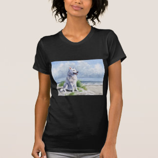 White German Shepherd T-shirts