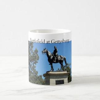 White Gettysburg Battlefield Mug