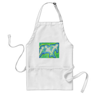 white ghosts aprons