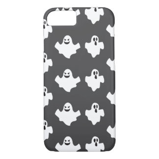 White ghosts for Halloween iPhone 7 Case