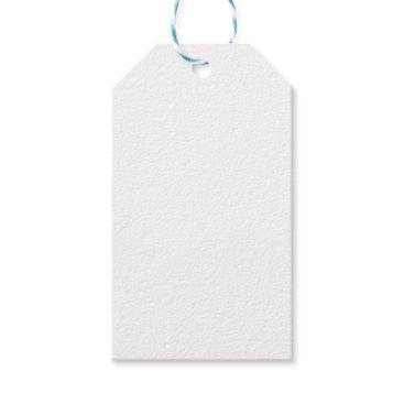 Beach Themed White Gift Tags