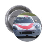 White Ginetta racing car Buttons