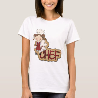 White Girl Chef T-shirts and Gifts