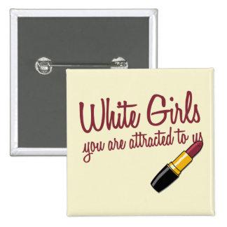 White Girls Button