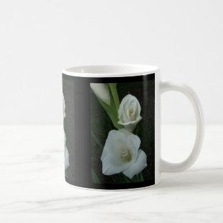 White Gladiola Mug