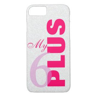 White glitter my 6 plus iPhone 7 case