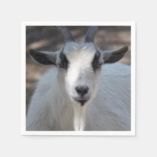 White Goat Napkin