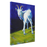 White Goat Painting Gallery Wrapped Canvas