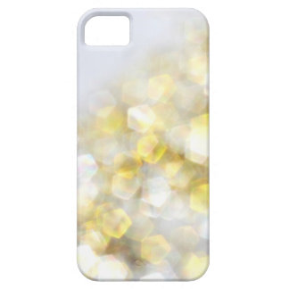 White Gold Bokeh Sparkle Glitter iPhone 5s Case