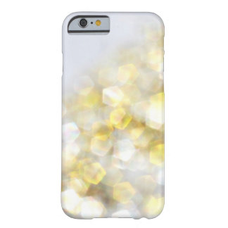 White Gold Bokeh Sparkle Glitter iPhone 6 case