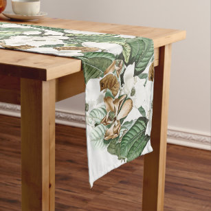 White And Gold Table Runners Zazzle