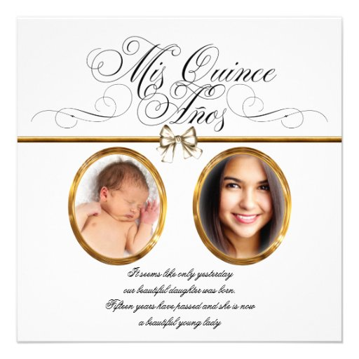 Fancy Quinceanera Invitations with amazing invitation layout