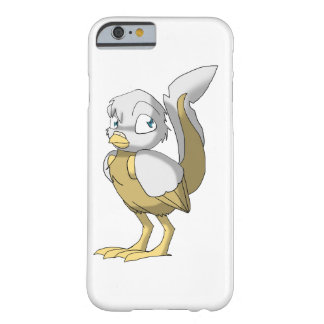 White/Gold Reptilian Bird Barely There iPhone 6 Case