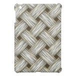 White Gold Weave Case For The iPad Mini