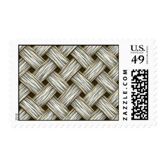 White Gold Weave Postage