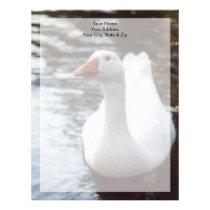 White Goose Letterhead