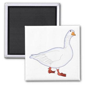 White Goose Magnet