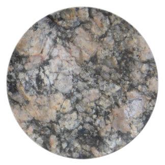 White Granite Plate