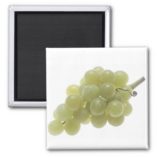 White Grapes Magnet
