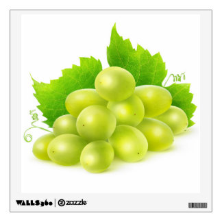 White grapes wall decal