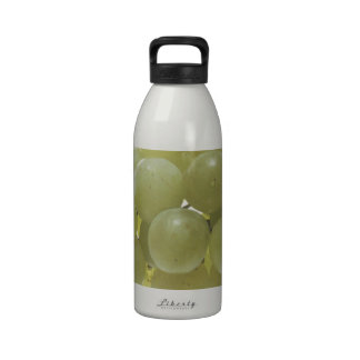 White Grapes Water Bottle