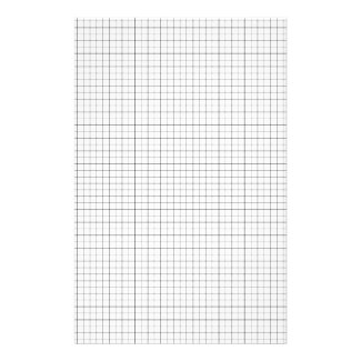 White Graph Paper Quad Paper Squared Paper