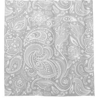 Floral Paisley Shower Curtains   Zazzle