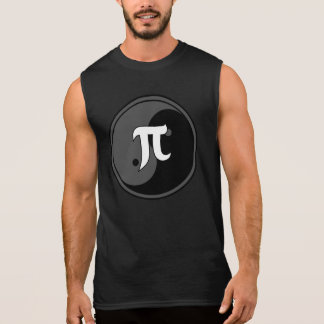 White Greek math and Yin Yang Design 1 Sleeveless Shirt