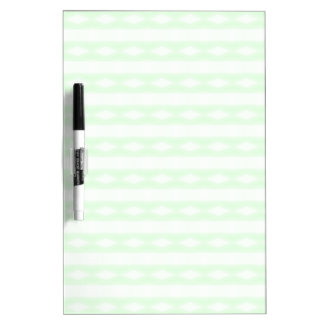 White & green abstract pattern Dry-Erase whiteboard