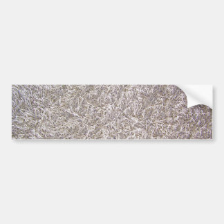 White Grey Carpet Texture Background Car Bumper Sticker