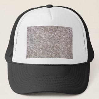 White Grey Carpet Texture Background Trucker Hat