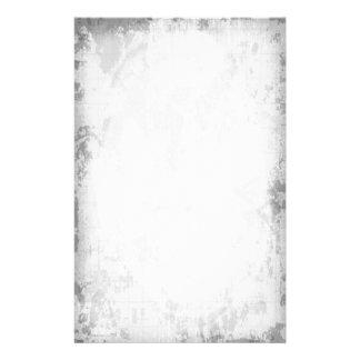 White grungy Stationary Stationery