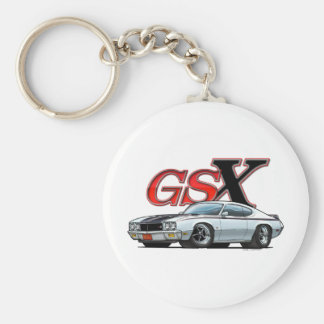 White_GSX Keychain