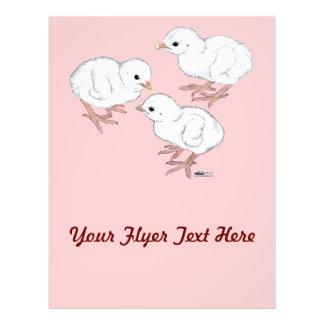 White Guinea Keets Flyers