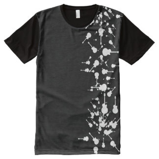 white guitars All-Over-Print T-Shirt