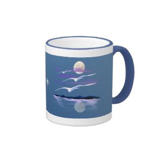 White Gulls  Mug