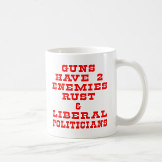 White Guns 2 Enemies Coffee Mug