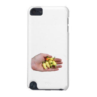 White Habanero Hot Peppers and Hand Photograp iPod Touch (5th Generation) Cover